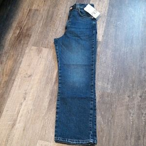 NWT Zara high rise vintage slim jeans